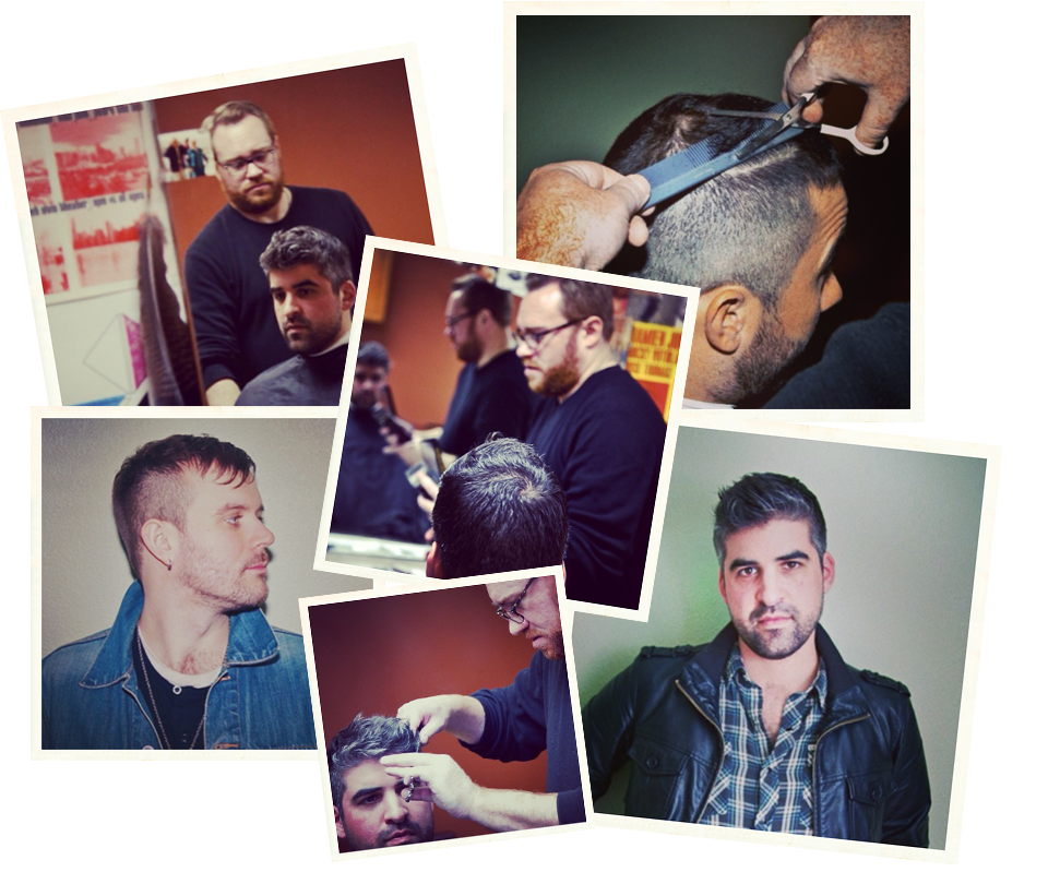 Joel's Gallery Montage of Haircuts